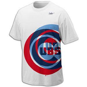 Nike MLB Cooperstown Logo T Shirt   Mens   Baseball   Fan Gear   Cubs