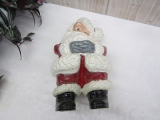 Vintage Ceramic Atlantic Mold Winking Santa Claus