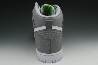 Nike Dunk High Mens Sneakers in Wolf Grey White Cool Grey 317982 045