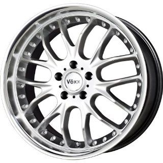 Voxx Maglia Hyper Silver Machined Wheel (17x8/5x114.3mm)