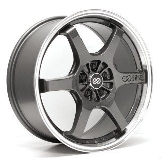16x7 Enkei SR6 (Gunmetal) Wheels/Rims 5x114.3/4.5 (473 670 6545GM