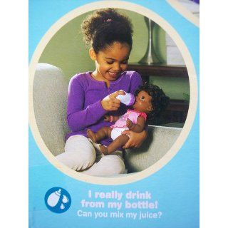 Baby Alive Wets and Wiggles African American Doll Dress Bottle Diaper