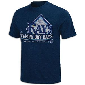 Majestic MLB Submariner T Shirt   Mens   Baseball   Fan Gear   Rays