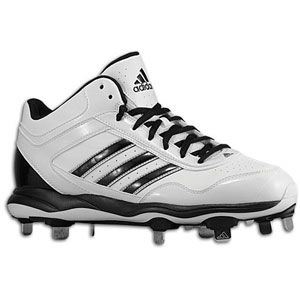 adidas Excelsior Pro Metal Mid   Mens   Baseball   Shoes   White