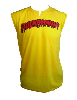 Hulk Hogan Hulkamania Adult Tank Top Shirt s M L XL 2XL