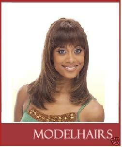 1B Human Hair Wigs Master Mix Wig Tia Milky Way