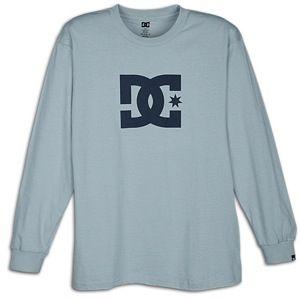 DC Shoes Star L/S T Shirt   Mens   Skate   Clothing   Sky