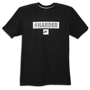 Nike Graphic T Shirt   Mens   Casual   Clothing   Black/Grey/White