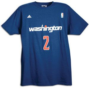 adidas Game Time T Shirt   Mens   Basketball   Fan Gear   Wizards
