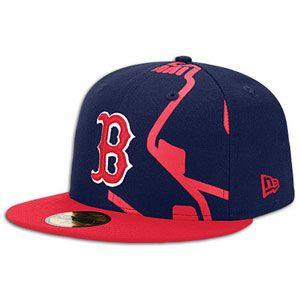 New Era MLB 59fifty Trimill Cap   Mens   Baseball   Fan Gear   Red