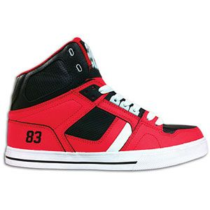 Osiris NYC 83 Vulc   Mens   Skate   Shoes   Red/Black/White