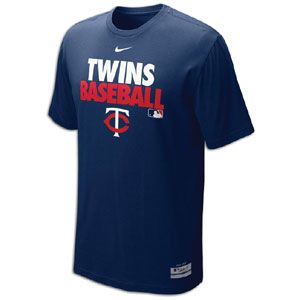 Nike MLB Dri Fit Graphic T Shirt   Mens   Baseball   Fan Gear   Twins