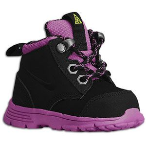 Nike ACG Dual Fusion   Girls Toddler   Black/Viola/Metallic Dark Grey