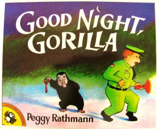 Gorilla Peggy Rathman Preschool Kids Picture Story Book Funny