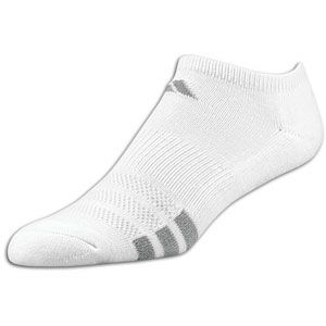 adidas Variegated 3 Pack No Show Sock   Womens   White/Aluminum