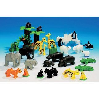 LEGO DUPLO Wild Animals   Set of 121: Office Products