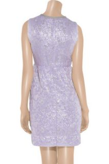 Marc Jacobs Metallic brocade shift dress
