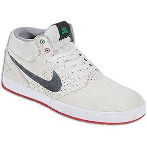 Nike P. Rod 5 Mid   Mens   Skate   Shoes   Swan/Black/White