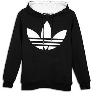 adidas Originals Big Logo Pull Over Fleece Hoodie   Mens   Casual