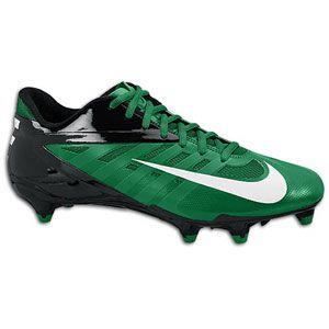 Nike Vapor Pro Low D   Mens   Football   Shoes   Pine Green/White
