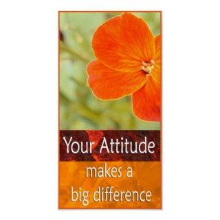 Focus Positive Attitude Motivational Poster
