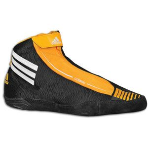 adidas adiZero Sydney   Mens   Wrestling   Shoes   Black/White/Gold