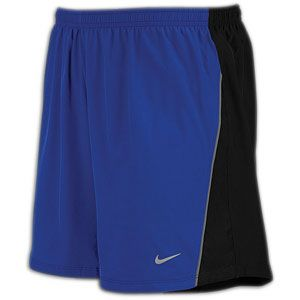 Nike 5 Stretch Woven Short   Mens   Running   Clothing   Old Royal