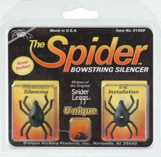 Archery Bow Hunting String Silencers Unique The Spider