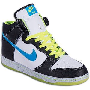 Nike Dunk High   Mens   Skate   Shoes   White/Blue Glow/White/Pure