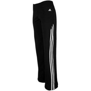 adidas Cotton Stretch Pant   Womens   Training   Clothing   Black