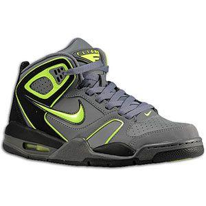 Nike Flight Falcon   Mens   Basketball   Shoes   Dark Grey/Dark Grey