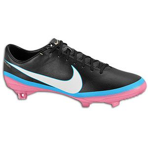 Nike Mercurial Vapor VIII CR7 FG   Mens   Black/White/Blue Glow/Pink