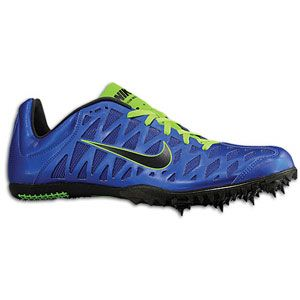 Nike Zoom Maxcat 4   Mens   Track & Field   Shoes   Game Royal/White