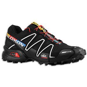 Salomon Spikecross 3 CS   Mens   Running   Shoes   Black/Bright Red