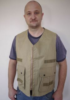 1950s Weatherite Hunting Fishing Camping Japanese Vest Mens M
