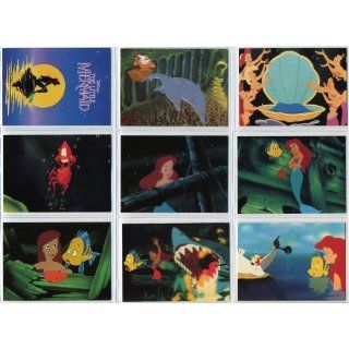 1991 Pro Set Disney Little Mermaid 127 Card New Complete