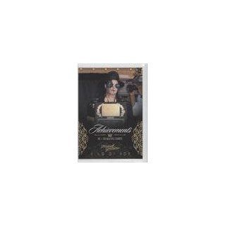 #/500 (Trading Card) 2011 Michael Jackson Gold #127