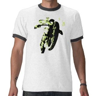 Vintage Bike Motor Cross Race T Shirt