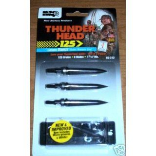 Archery Products / Thunder Head 125 / 125 Grains / 3