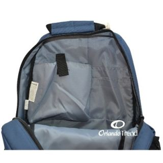 New Hurley Backpack Navy Blue Rucksack Mochila Maletin School Book Bag