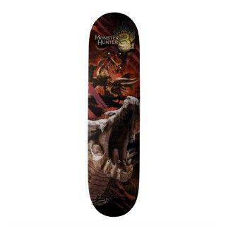 Monster Hunter Skateboard