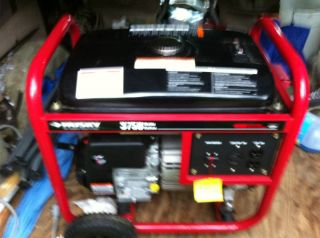 Husky 3750 Gas Generator Briggs Stratton Engine New
