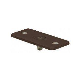 CRL Dark Bronze Optional Flat Hand Rail Adapter Plate for