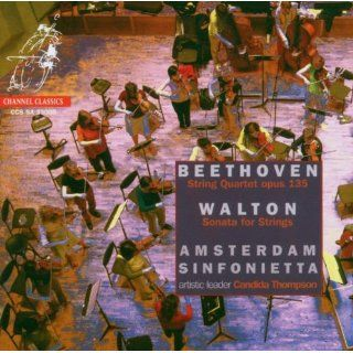 Beethoven String Quartet, Op. 135; Walton Sonata for