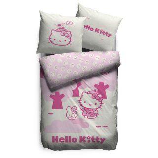 Best   Hello Kitty Duvet Set Forest 135 x 200 cm