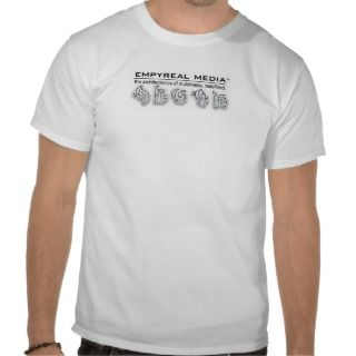 Empyreal Media   bubble letters Shirts