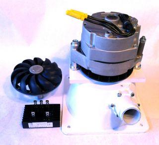 Micro Hydro Turgo PELTON Cat Water Turbine 1100 Watt PMA Generator