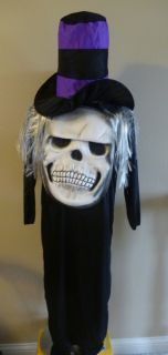 Boys Mad Hatter Mr Hyde Skull Costume Size 10 12 Dress Up Hat Foam