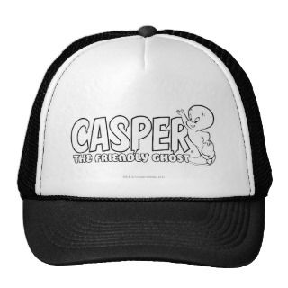 Casper the Friendly Ghost Logo 2 Mesh Hats