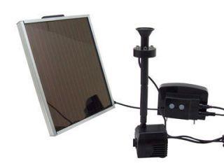 Beckett Solar Water Garden Pond Pump Nozzle Kit 39 GPH 10 Nozzles New